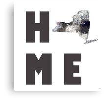 "New York ""HOME"" Canvas Print"