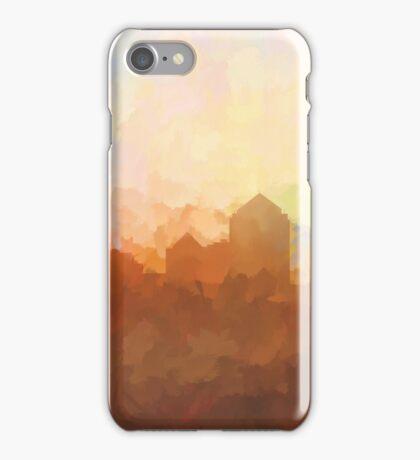 Albuquerque skyline - In the clouds iPhone Case/Skin