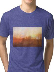 Albuquerque skyline - In the clouds Tri-blend T-Shirt