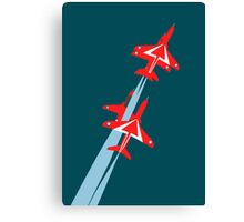 Red Arrows 50th Display Season Canvas Print