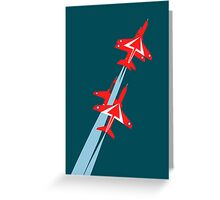 Red Arrows 50th Display Season Greeting Card