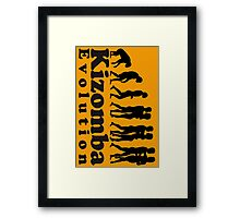 Kizomba Evolution Framed Print