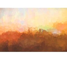 Alexandria, Virginia Skyline - In the clouds Photographic Print