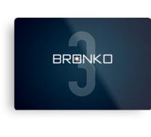 Bronko Metal Print