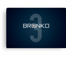 Bronko Canvas Print