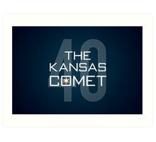 The Kansas Comet Art Print