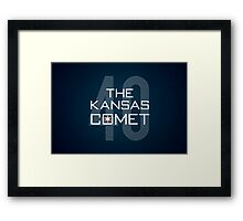 The Kansas Comet Framed Print