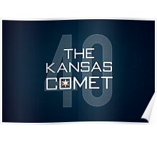 The Kansas Comet Poster