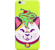 Cupcake Maneki-neko iPhone Case/Skin