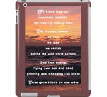 Three Generations Surfing iPad Case/Skin