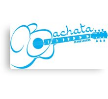 Bachata - Is For Lovers Guitar  Canvas Print