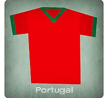 Retro Football Jersey Portugal by Daviz Industries