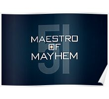 Maestro of Mayhem Poster