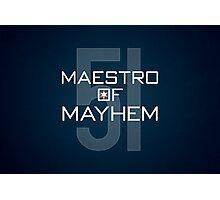 Maestro of Mayhem Photographic Print