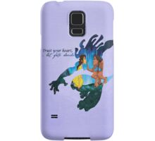 Tarzan ~ Trust your heart, let fate decide Samsung Galaxy Case/Skin