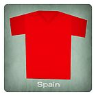 Retro Football Jersey Spain by Daviz Industries