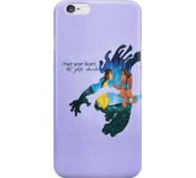 Tarzan ~ Trust your heart, let fate decide iPhone Case/Skin