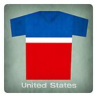 Retro Football Jersey United States by Daviz Industries