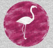 Pink Flamingo One Piece - Short Sleeve