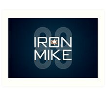 Iron Mike Art Print