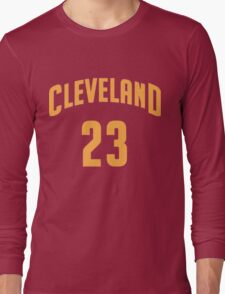 Lebron James Cleveland 23   2016 Long Sleeve T-Shirt