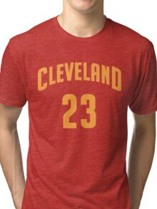 Lebron James Cleveland 23 | 2016 Tri-blend T-Shirt