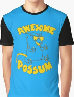Awesome-Possum Graphic T-Shirt