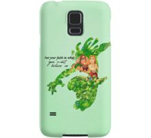 Tarzan ~ Put Your faith in what you most believe in Samsung Galaxy Case/Skin