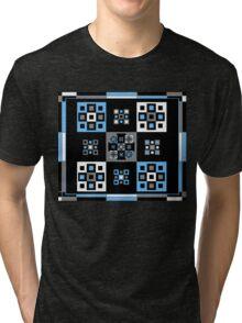 Blue Square Tri-blend T-Shirt