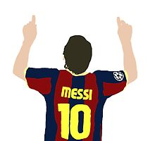 Messi 10 by JuzaShannon