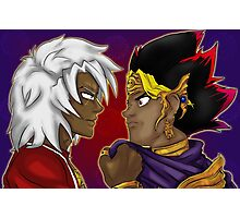 Thief King and the Pharaoh Photographic Print