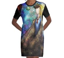 The Tenth Graphic T-Shirt Dress