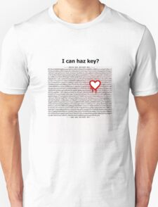 Heartbleed OpenSSL One Unisex T-Shirt