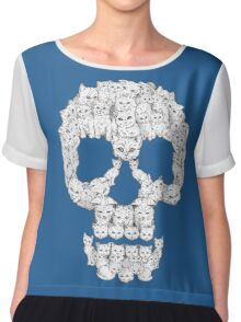 Skull Are for Pussies Chiffon Top