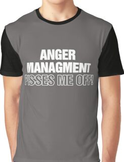 Anger Management Funny Graphic T-Shirt