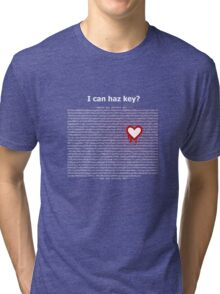 Heartbleed OpenSSL Two Tri-blend T-Shirt