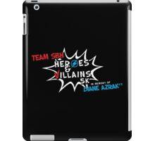 superhero 5k iPad Case/Skin