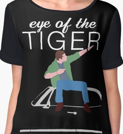 Supernatural - Eye of the Tiger Chiffon Top