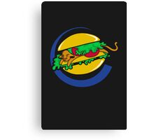 The Lion Burger King Canvas Print