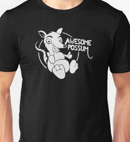 Awesome Possum Funny Unisex T-Shirt