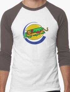 The Lion Burger King Men's Baseball ¾ T-Shirt