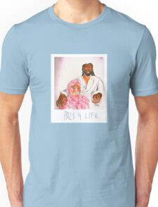 Pink Guy and Black Jesus, Pals for Life Unisex T-Shirt