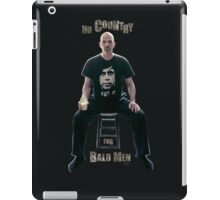 No Country For Bald Men iPad Case/Skin