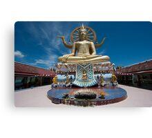 Big Buddha Temple  Canvas Print