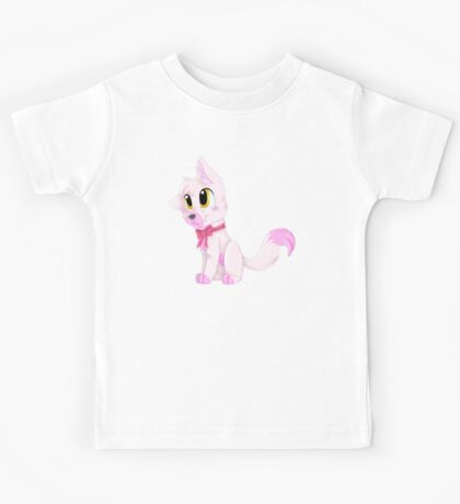 Adorable Pink Fox (FNAF Mangle) Kids Tee