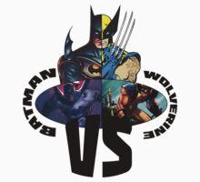 Bat VS Wolv 3 by D-AF-T