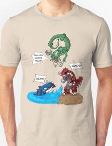 Old man Rayquaza losing it T-Shirt
