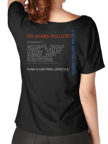 Do electric cars pollute? Women's Relaxed Fit T-Shirt