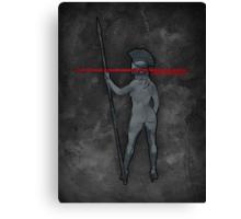 Lady Spartan Canvas Print