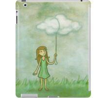 Cloud on a string iPad Case/Skin